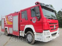 Yunhe WHG5192GXFPM80 foam fire engine