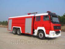 Yunhe WHG5240GXFSG100 fire tank truck