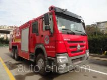 Yunhe WHG5260TXFGP100 dry powder and foam combined fire engine
