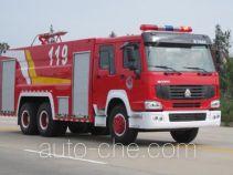 Yunhe WHG5270GXFPM120 foam fire engine