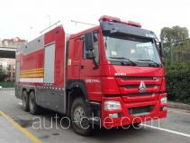 Yunhe WHG5280GXFGY100 liquid supply tank fire truck