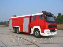 Yunhe WHG5290GXFSG150 fire tank truck