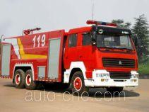 Yunhe WHG5291GXFPM150 foam fire engine