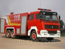 Yunhe WHG5291GXFSG150 fire tank truck