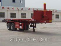 Junwang WJM9350ZZXP flatbed dump trailer
