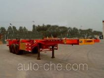 Junwang WJM9371TJZG container transport trailer