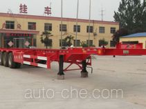 Jufeng Suwei WJM9400TJZ container transport trailer