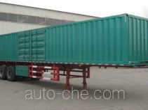 Jufeng Suwei WJM9404XXY box body van trailer