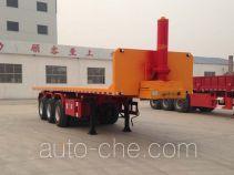 Junwang WJM9404ZZXP flatbed dump trailer