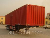 Junwang WJM9406XXY box body van trailer