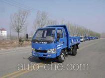 五征牌WL1710PD15型自卸低速货车