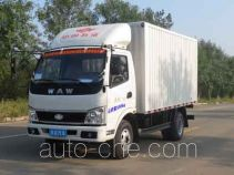 Wuzheng WAW WL2810X1 low-speed cargo van truck