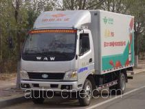 Wuzheng WAW WL4010X1 low-speed cargo van truck