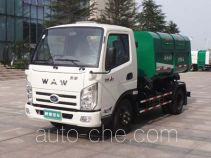 Wuzheng WAW WL4020DQ1 low speed garbage truck