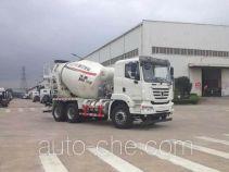 瑞江牌WL5250GJBSQR36型混凝土搅拌运输车