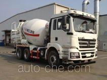 瑞江牌WL5250GJBSX32型混凝土搅拌运输车
