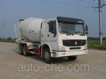 瑞江牌WL5250GJBZZ40型混凝土搅拌运输车