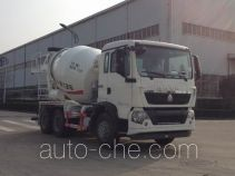 瑞江牌WL5251GJBZZ32型混凝土搅拌运输车