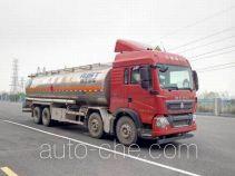 瑞江牌WL5310GYYZZ46型铝合金运油车