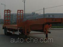 瑞江牌WL9290TD型低平板半挂车