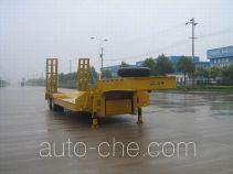瑞江牌WL9290TDP01型低平板半挂车