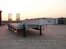 瑞江牌WL9292TDP型低平板半挂车