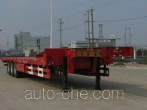 瑞江牌WL9400TDPA型低平板半挂车