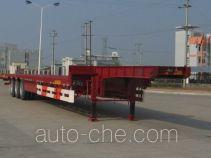 瑞江牌WL9320TD型低平板半挂车