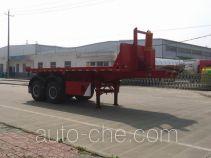 RJST Ruijiang WL9350ZZXP flatbed dump trailer