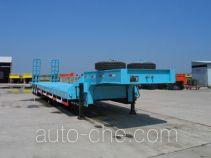 瑞江牌WL9352TDP型低平板半挂车