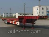 瑞江牌WL9354TD型低平板半挂车