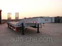 瑞江牌WL9360TDP型低平板半挂车