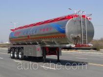 RJST Ruijiang WL9400GRY flammable liquid aluminum tank trailer