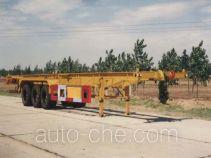 RJST Ruijiang WL9400TJZG container transport trailer