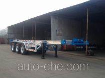 RJST Ruijiang WL9401TWYB dangerous goods tank container skeletal trailer