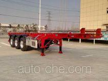 RJST Ruijiang WL9401TWYC dangerous goods tank container skeletal trailer