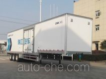 RJST Ruijiang box body van trailer