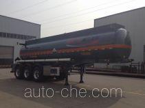 瑞江牌WL9402GFW型腐蚀性物品罐式运输半挂车