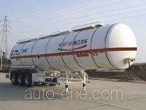 瑞江牌WL9402GFWB型腐蚀性物品罐式运输半挂车