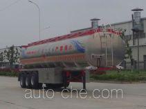 RJST Ruijiang WL9402GRY flammable liquid aluminum tank trailer