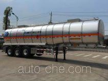 RJST Ruijiang WL9402GRYF flammable liquid aluminum tank trailer