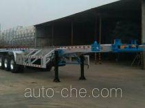 RJST Ruijiang WL9402TWYC dangerous goods tank container skeletal trailer