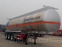 RJST Ruijiang WL9403GRY flammable liquid aluminum tank trailer
