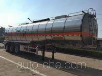 RJST Ruijiang WL9404GRYF flammable liquid aluminum tank trailer