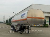 瑞江牌WL9405GRYF型铝合金易燃液体罐式运输半挂车