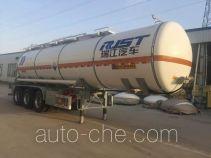 瑞江牌WL9406GFWC型腐蚀性物品罐式运输半挂车