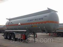 瑞江牌WL9406GFWD型腐蚀性物品罐式运输半挂车