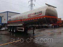 瑞江牌WL9406GRYB型铝合金易燃液体罐式运输半挂车
