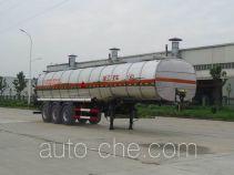瑞江牌WL9406GRYF型铝合金易燃液体罐式运输半挂车