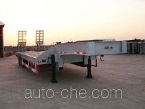 瑞江牌WL9406TDP型低平板半挂车